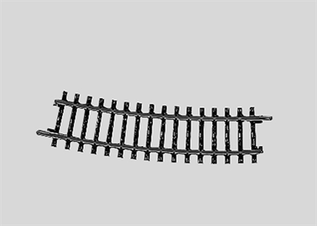 Böjd skena M2 15° Märklin 2233 H0 | Modelljärnväg i Umeå